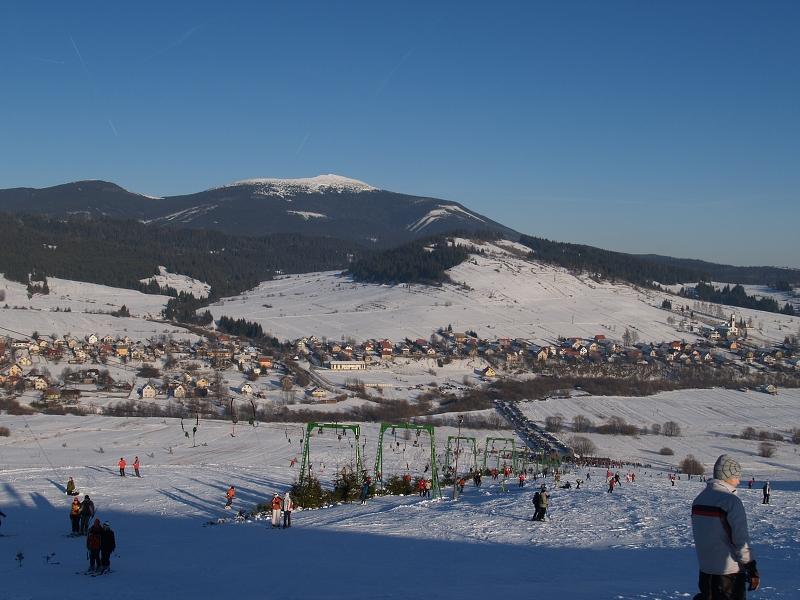 Ski centrum Polhorský hrádok